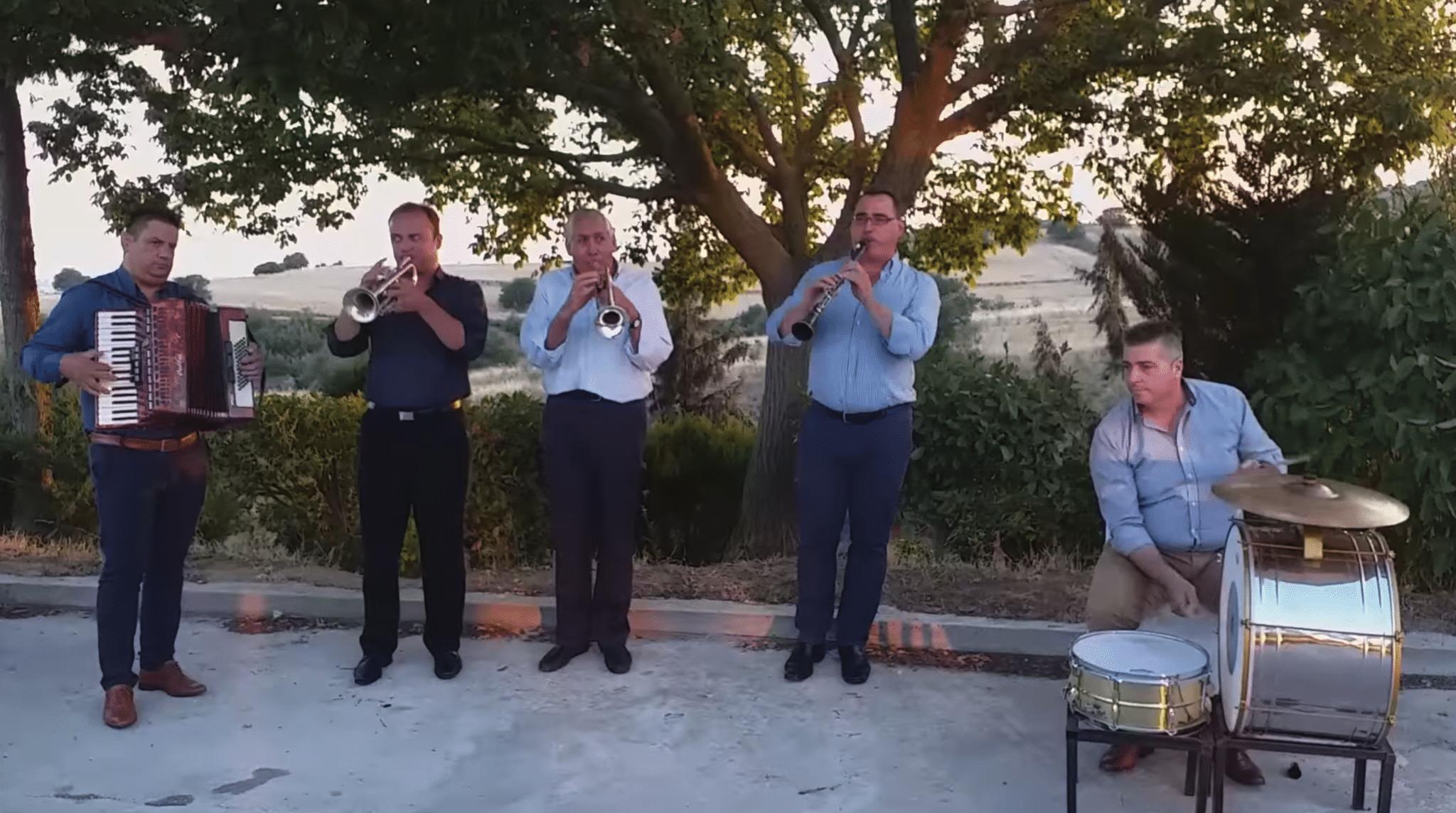 Dimitris Parasxos band